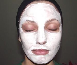 Máscara de Argila Branca