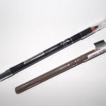 Lápis de sobrancelha e lápis preto com esfuminho Yes Cosmétics