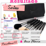 Resultado do sorteio Kit Travel Sigma