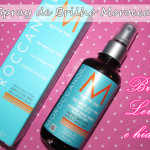 Moroccanoil Hair Glimmer Shine: Spray de brilho intenso