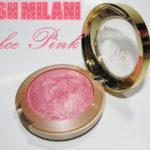 Blush Dolce Pink Milani + comparação com S. Orgasm NARS