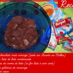 Mousse de chocolate super fácil e rápida