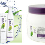 Uma máscara que promete! Hydratherapie Aqua-immersion/ Biolage Matrix