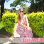 Look romântico/ Vestido floral