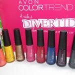 Nova coleção de Esmaltes Color Trend Avon