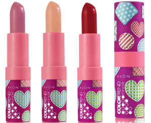 Batom Pop Love Avon: Beijinho, Maçã do amor e Pé de moleque