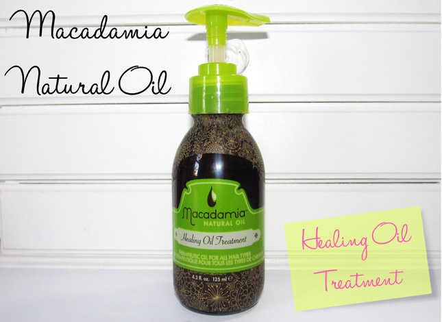 Healing Oil Treatment/ Macadamia Natural Oil