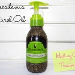 Resenha: Healing Oil Treatment/ Macadamia Natural Oil