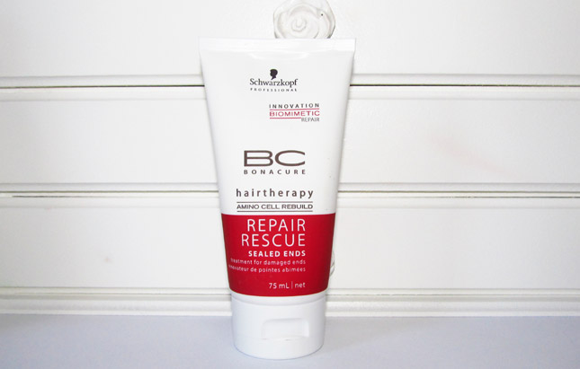 Resenha Sealed Ends Repair Rescue/ Bonacure Swcharzkopf