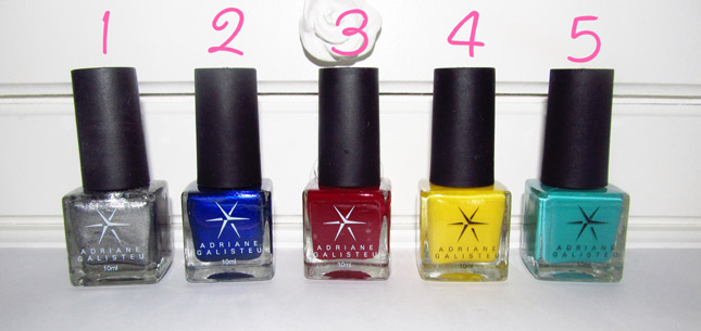 Esmaltes Adriane Galisteu Top Beauty
