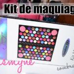 Kit maquiagem Jasmyne sombra 3D + blush