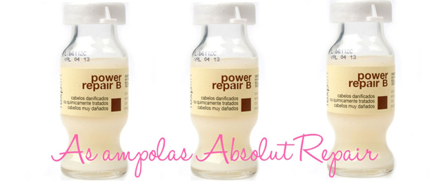 Resenha: Ampola Power Repair B/ Absolut Repair Loreal