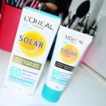 Resenha: Protetor Solar Facial toque seco Expertise Loreal