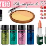 Sorteio: 70 reais em vale compras de maquiagem