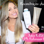 Reconstrução ácida: Joico k-Pak + acidificante K-pro