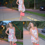 Look: Vestido mullet Florido