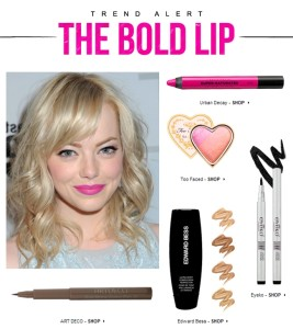 Trend Alert: The Bold Lip
