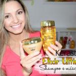 Resenha: Kerastase Elixir Ultime shampoo e máscara