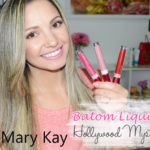 Batom Líquido Mary Kay: Poised Pink, Bold Fucsia e Radiant Red