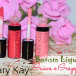 Batom liquido Mary Kay: Guava Punch e Grapefruit