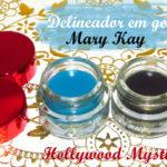 Delineador em gel Mary Kay: Temping Teal e Jet Black