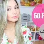 Tag: 50 fatos sobre mim