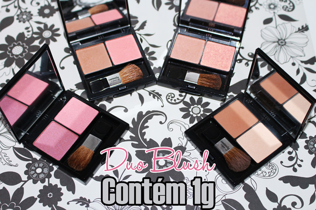 Duo Blush contem 1g