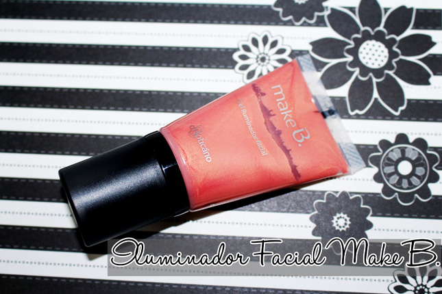Gel iluminador facial make b. boticario