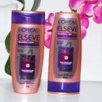 Resenha da Camila: Shampoo e condicionador Elseve Quera Liso leve e sedoso