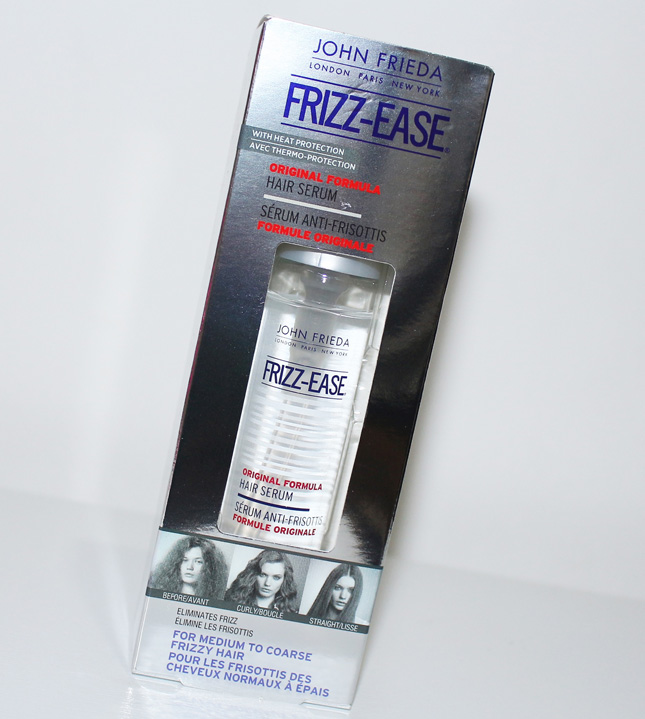 Resenha: Frizz Ease Hair Serum original formula