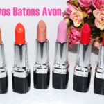 Swatches: novos batons Ultra color Avon