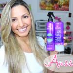 Resenha: Protetor térmico Spray Aussie + 3 minutes Miracle