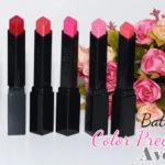 Swatches: Batom Color Precise Avon