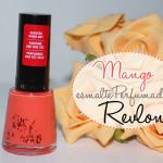 Mad about Mango Revlon no esmalte da semana/ perfumado
