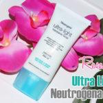 Resenha: Ultra Light Neutrogena Hidratante facial pele mista a oleosa