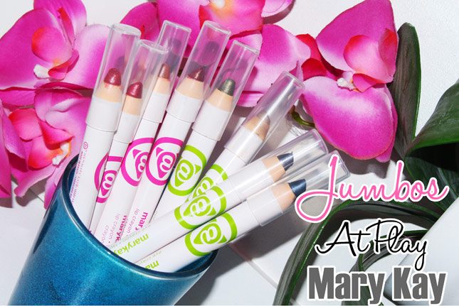 Jumbos -sombras e batons- At Play Mary Kay