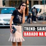 Trend: Saias com Babado na Barra!