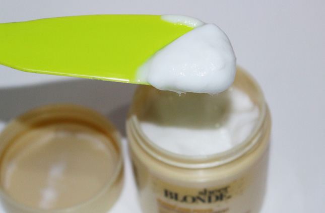 Resenha: Sheer Blonde blonde hair repair conditioning treatment