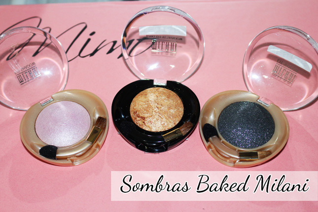Sombras Baked Milani