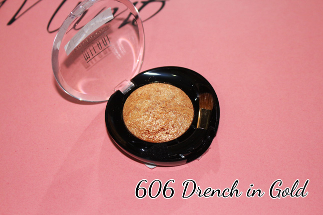 sombra baked milani 606 Drench in Gold: