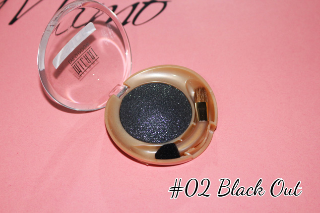 sombra baked milani #02 Black out