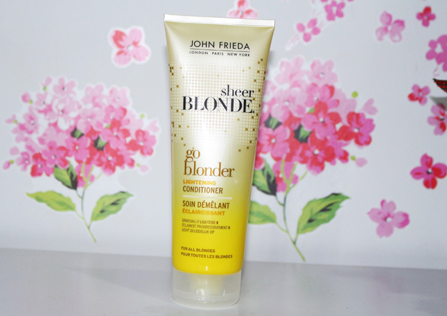 Resenha: Go Blonder Sheer Blonde John Frieda