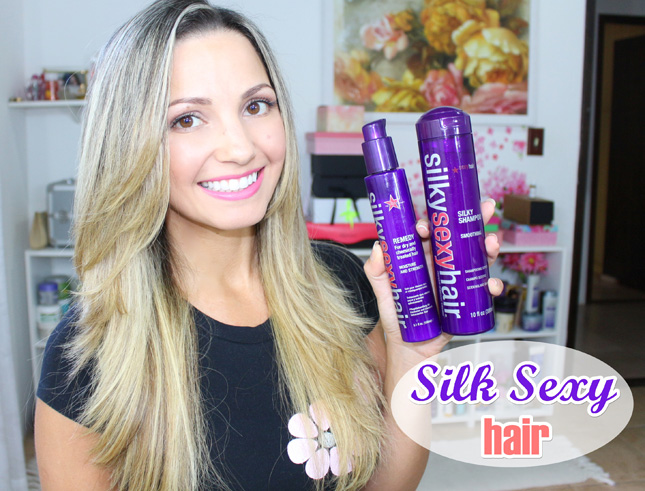 Resenha: Silk Sexy Hair shampoo e leave in