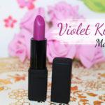 Batom: Violet Kiss Mate alta cobertura Contém 1g