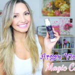 Resenha: óleo de Argan Violet Magic Color