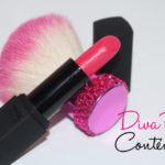 Batom Diva Pink Mate Contém 1g