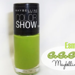 Esmalte go go green Color Show Maybelline