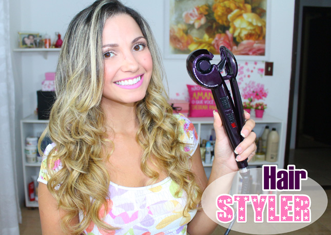 Post e vídeo: Hair Styler Conair Polishop