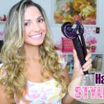 Post e vídeo: Hair Styler Conair Polishop