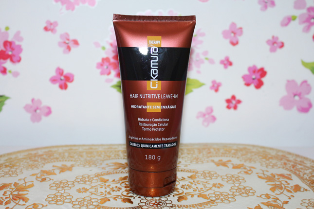 Resenha C Kamura Hair Nutritive Leave in